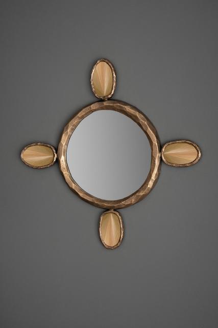FG004667, Amulet, Mirror, Round