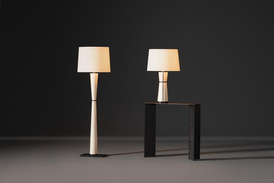 FG004671, FG004672, Maluku, Floor Lamp, Table Lamp