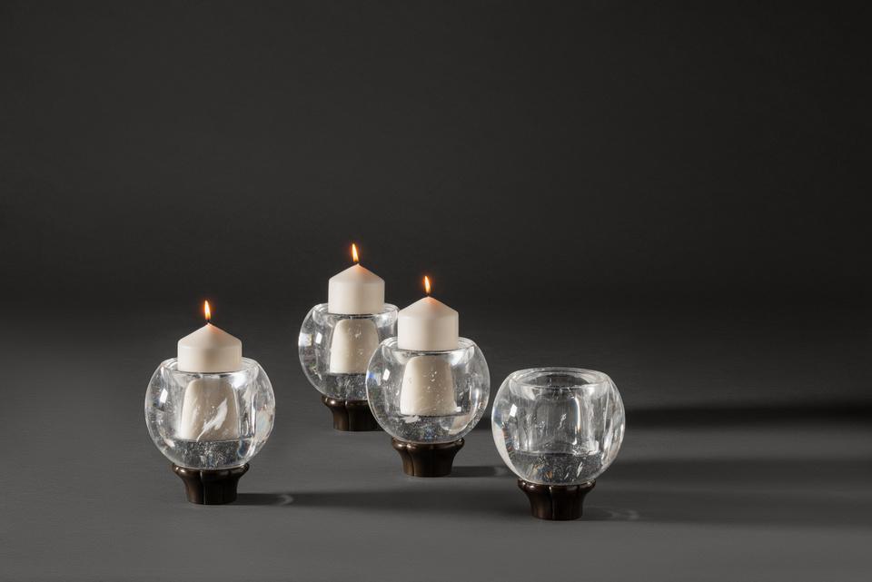 FG004095, Orb, Candleholders
